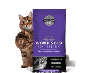 Win A Year's Supply of World's Best Cat Litter