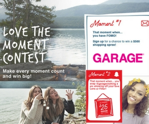 Win a $500 Garage Clothing Gift Card