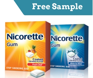Free Sample of NICORETTE Gum