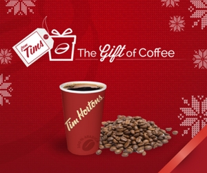 Free $10 Tim Hortons Gift Card with Purchase