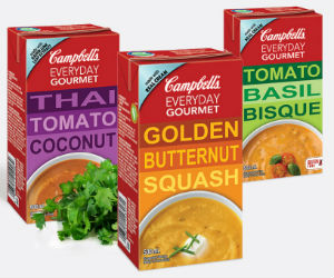 Save $1 on Campbell's Everyday Gourmet Soup