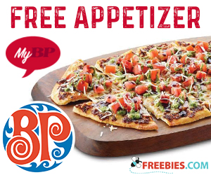 Free Appetizer From Boston Pizza