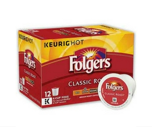 Save $1 Off Folgers K-Cup Pods
