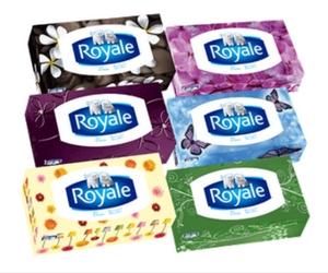 Save 75¢ off Royale Facial Tissue