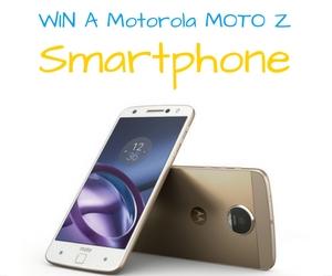 Win a Motorola Moto Z Smartphone
