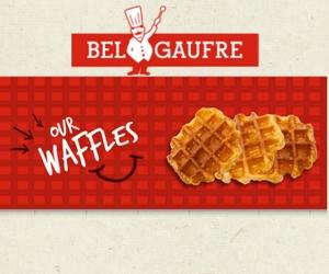 Win a Case of 72 Belgian Waffles from Bel Gaufre