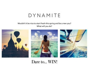 Win a $1,000 Visa Gift Card from Dynamite