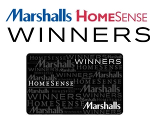 Win a $150 Winners, Marshalls or HomeSense Gift Card