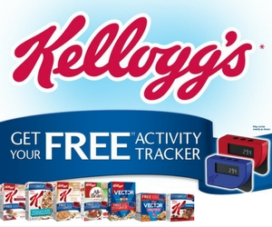 Free Kellogg's Activity Tracker