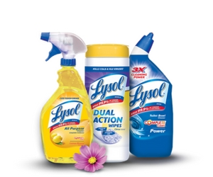 Save on Lysol Products
