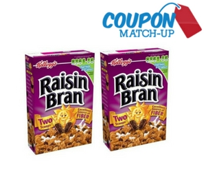 Kellogg's Two Scoops Raisin Bran Cereal
