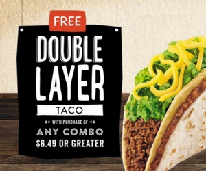 Free Double Layer Taco