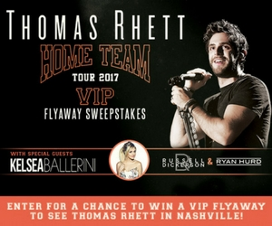 Win a Trip to See Thomas Rhett in Nashville