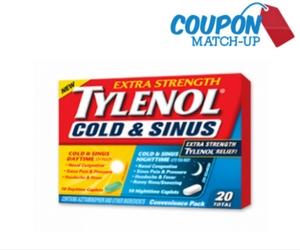 Free Tylenol Cold Medicine