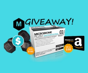 Win a Microbiome Plus+ Wellness Package