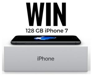 Win a 128GB Apple iPhone 7