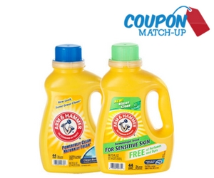 Pay Only 50¢ for Arm & Hammer Laundry