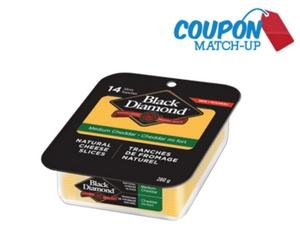 Black Diamond Natural Cheese Slices