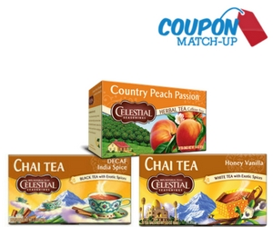 Celestial Herbal Tea Match-Up