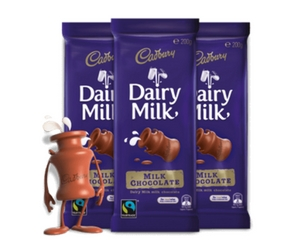 Save 75¢ Off Any Two Cadbury Dairy Milk Bars