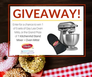 Win a KitchenAid Stand Mixer & Gay Lea Oven Mitts