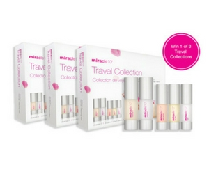 Win 1 of 3 Miracle10 Skincare Travel Collections