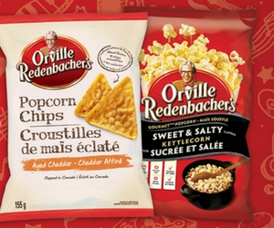 Save $3 Off Orville Redenbacher's Chips or Ready To Eat Popcorn