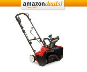 50% off Toro Snow Blower
