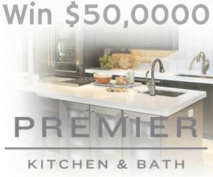 Win $50,000 with Premier Kitchen & Bath