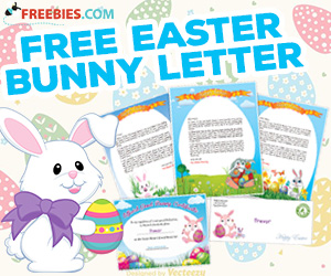 Create a Free Letter From The Easter Bunny