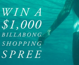 Win a $1,000 Billabong Shopping Spree