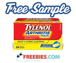 Free Bottle of Tylenol Arthritis Pain Relief