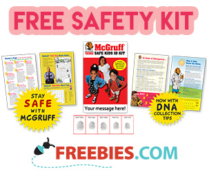 Free McGruff Safe Kit
