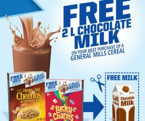 Free 2L Chocolate Milk from General Mills