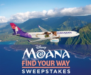 Win a Family Trip to Hawaii with Disney