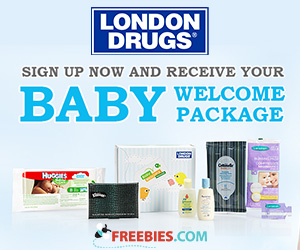 Free Welcome Baby Package From London Drugs