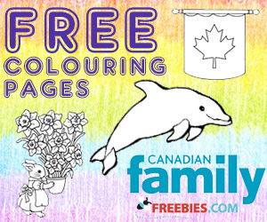 Free Colouring Pages From Canadian Family