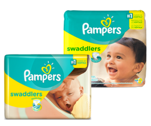Save $2 off Pampers Swaddlers Diapers