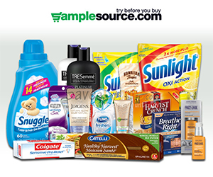 TODAY ONLY – Sign Up For The SampleSource Sample Box!