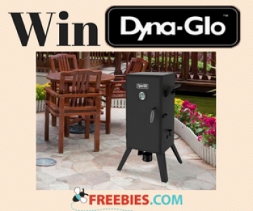 Win a Dyna-Glo Vertical Charcoal Smoker