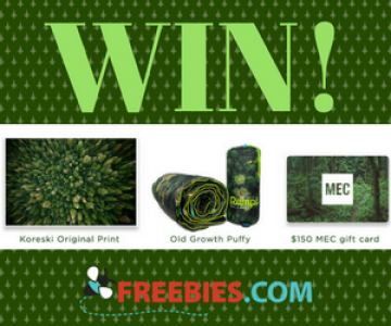 Win a MEC Card and Outdoor Swag