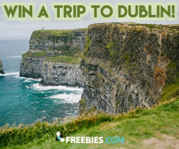 Win a Trip for 2 to Dublin
