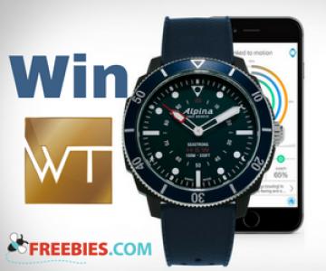 Win an Alpina Seastrong Horological Smartwatch