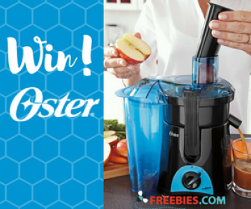 Win an Oster Juice & Blend 2 Go Compact Juice Extractor and Personal Blender