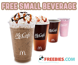 Free McDonald's McCafe Specialty Beverage