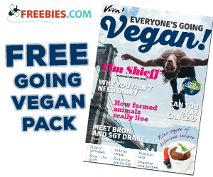 Free Going Vegan Sample Pack