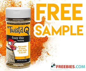 Free Samples of Twisted Q BBQ Seasoning