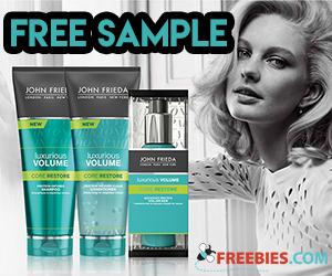 Free John Frieda Luxurious Volume Sample