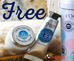 Free L'Occitane Face & Hand Cream