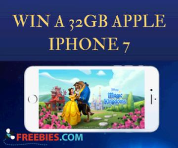 Win a 32GB Apple iPhone 7